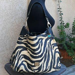 🍂Dooney&Bourke zebra large bag